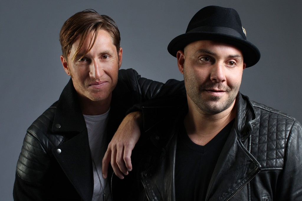 Dustin Bath and Nathan Blumenfeld-James of Early Morning Rebel
