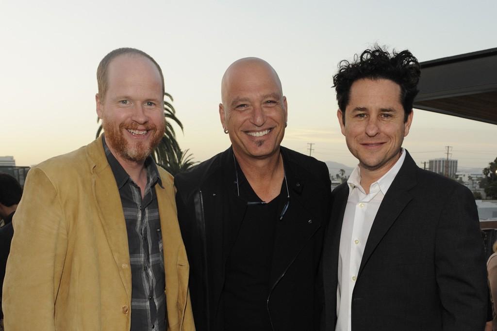 Joss Whedon, Howie Mandel and J.J Abrams