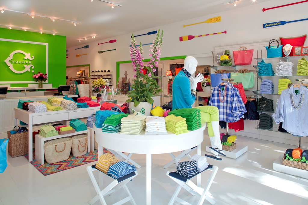 The C. Wonder pop-up store in Southampton.