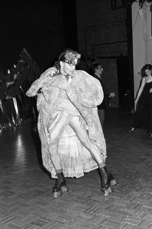 Rollerena at Studio 54 in 1978.