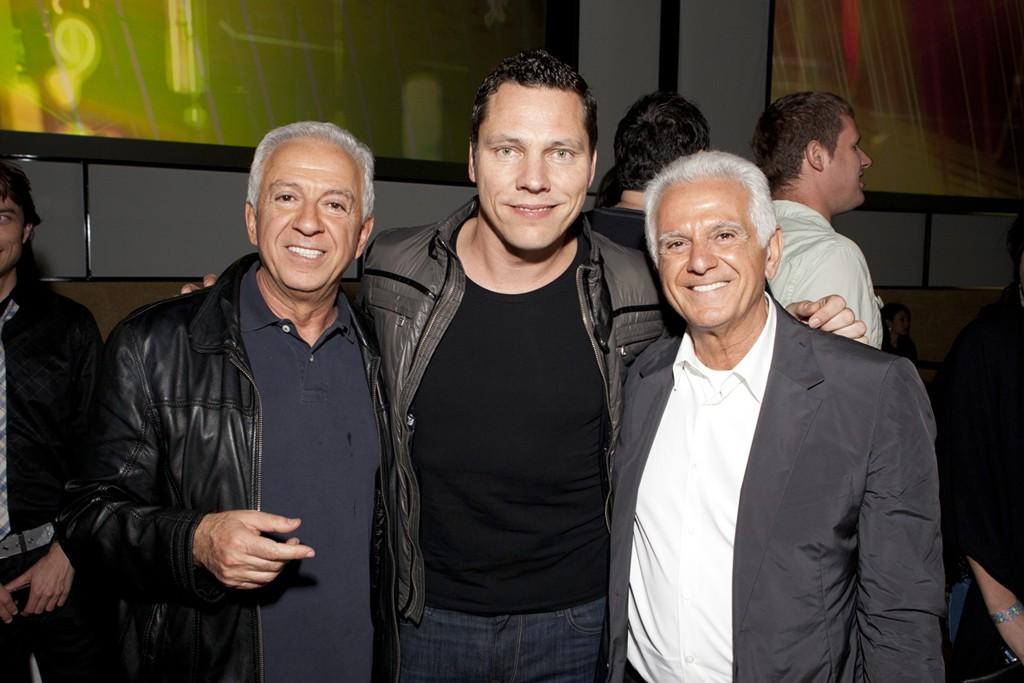 Paul Marciano, Tiesto and Maurice Marciano