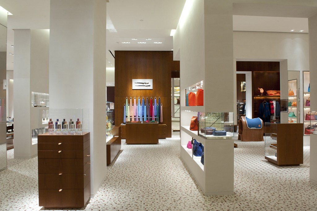 The Hermès store in Abu Dhabi.
