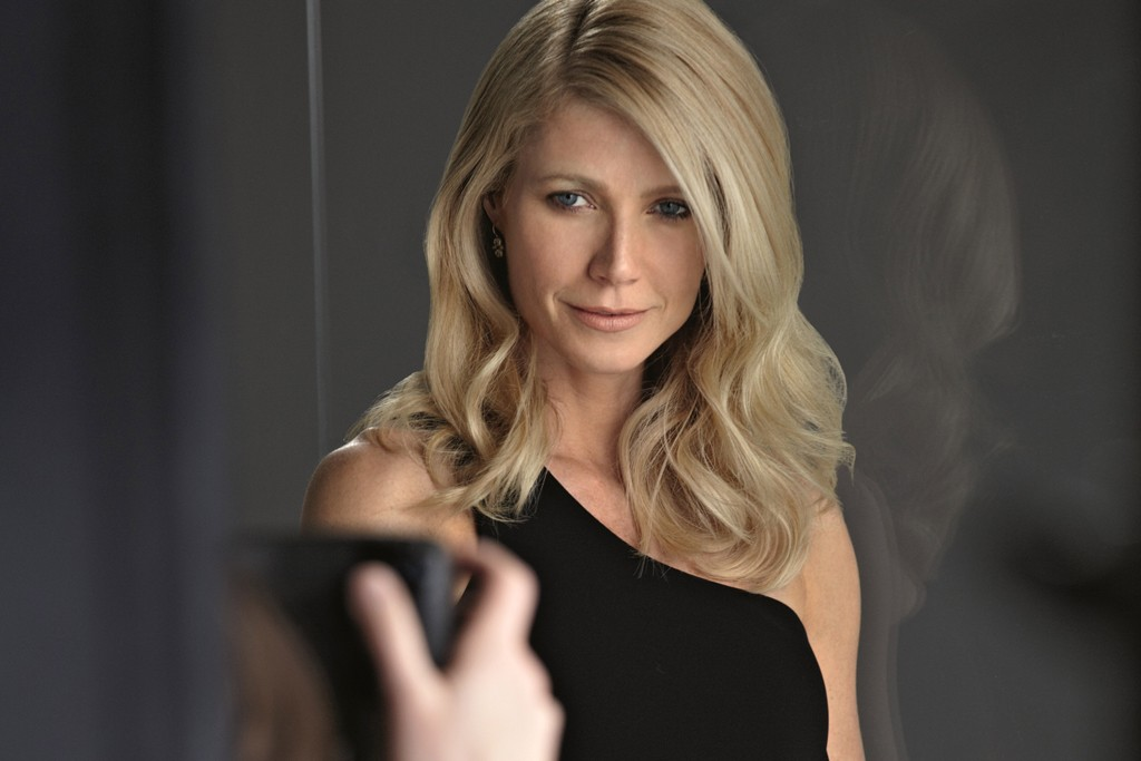 Gwyneth Paltrow in the Boss Nuit Pour Femme campaign.