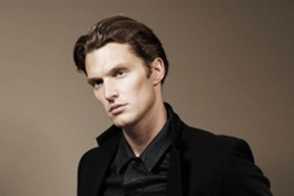 Shaun DeWet in J Brand's fall 2012 campaign.