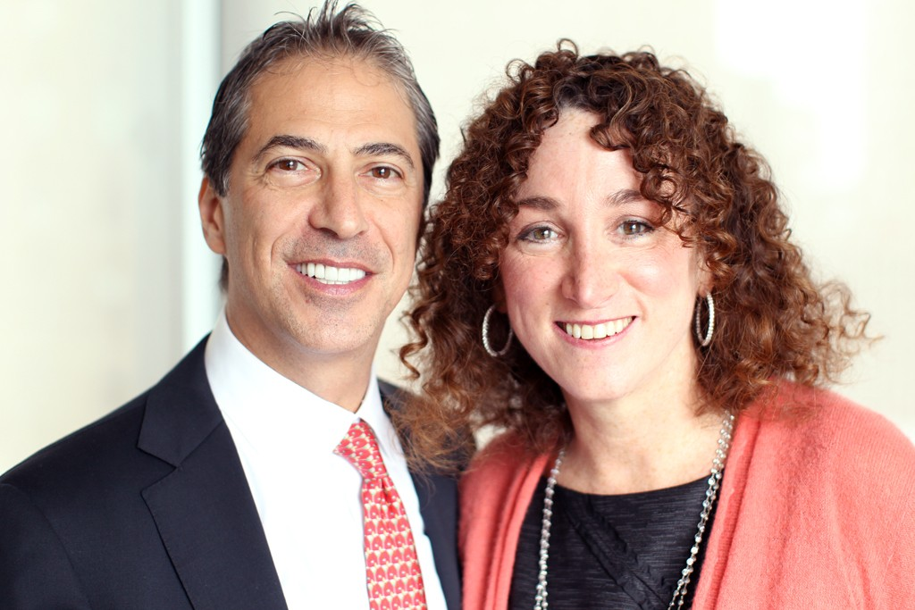 Marc Leder and Jill Granoff
