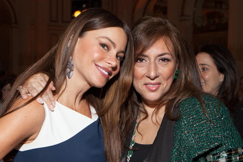 Sofia Vergara and Lorraine Schwartz