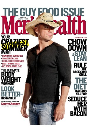 The cover of Men's Health.
