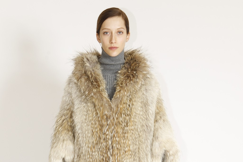 A look from Michael Kors' fur collection.