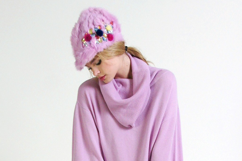 A look from Minnie Rose's holiday line.