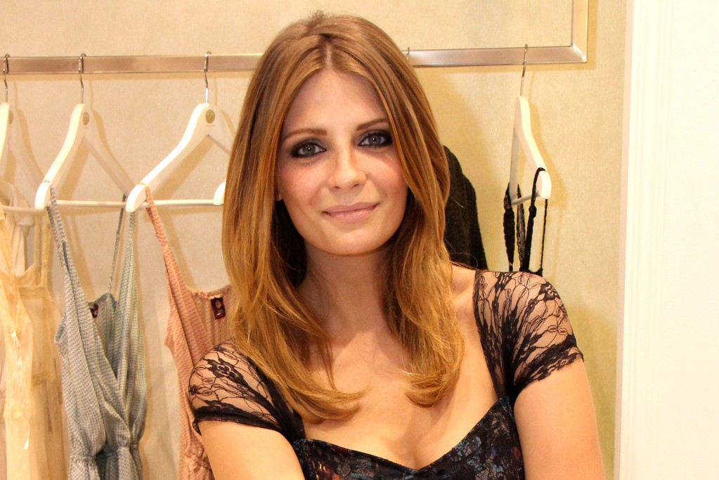 Mischa Barton launching her clothing line at Rivaage Boutique in Dubai Mall, the World's biggest mall.
