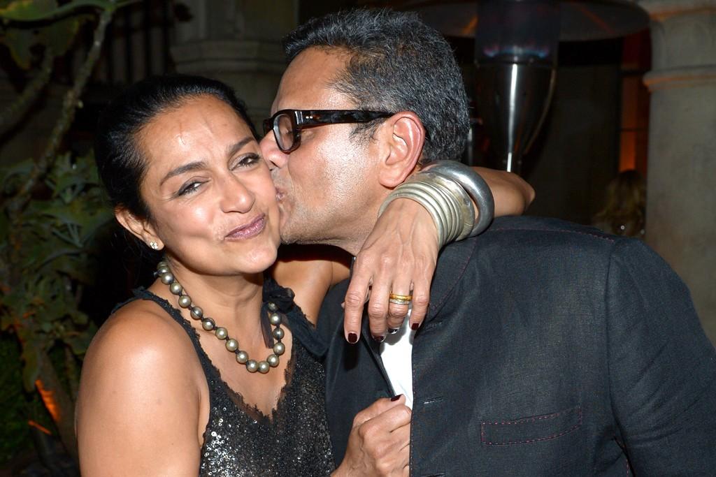Ranjana and Naeem Khan