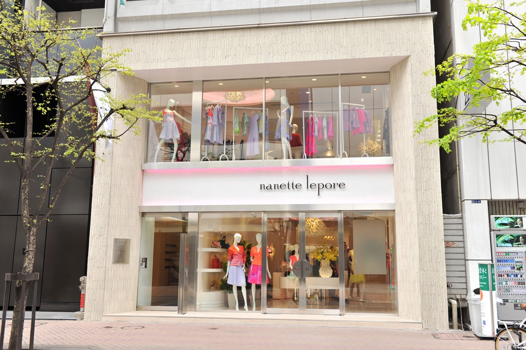 A view of the Nanette Lepore store in Tokyo.