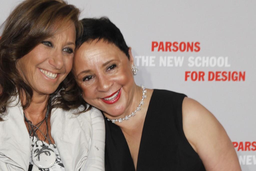 Donna Karan and Sheila C. Johnson