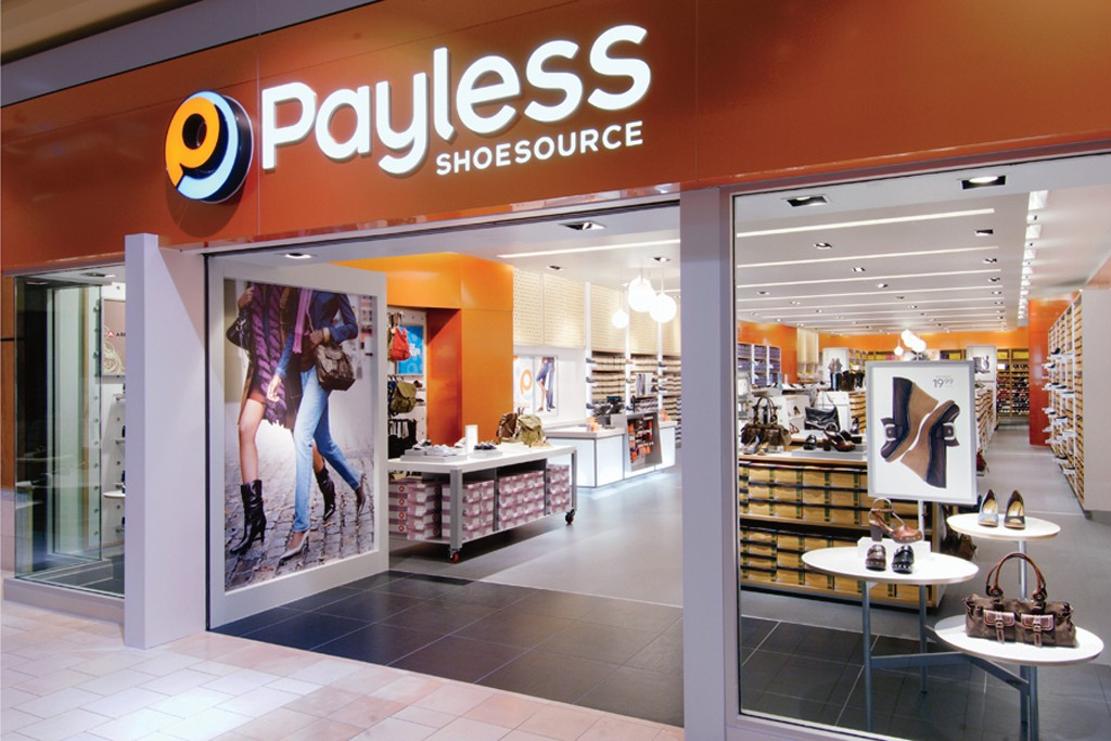A Payless location.