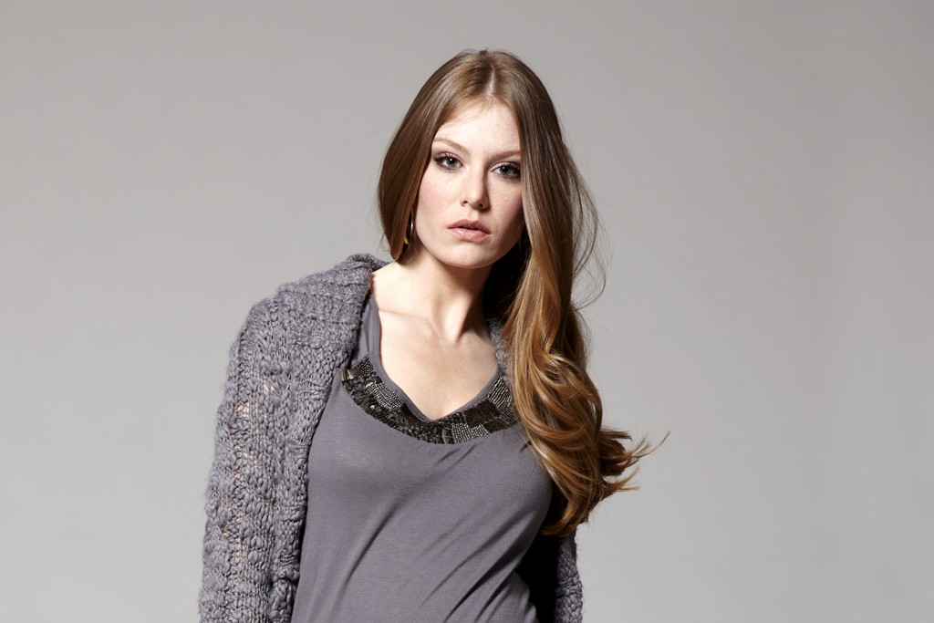 A look from Jessica Simpson's new maternity line for Destination Maternity.
