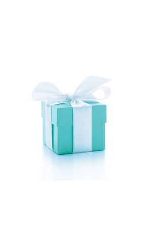The Tiffany & Co blue box