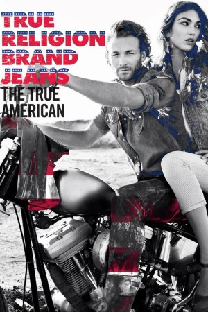 A visual from True Religion's spring marketing campaign