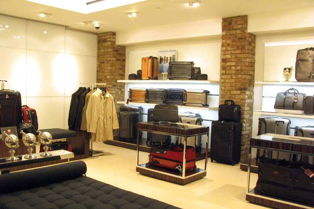 A look at the Tumi store.