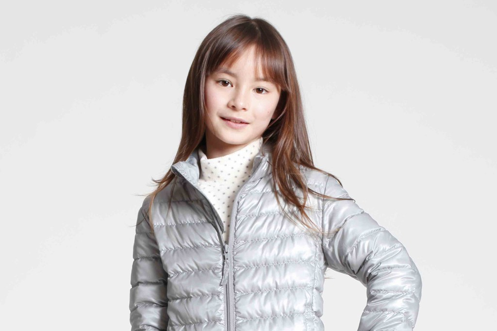 A look from the Uniqlo Kids collection.