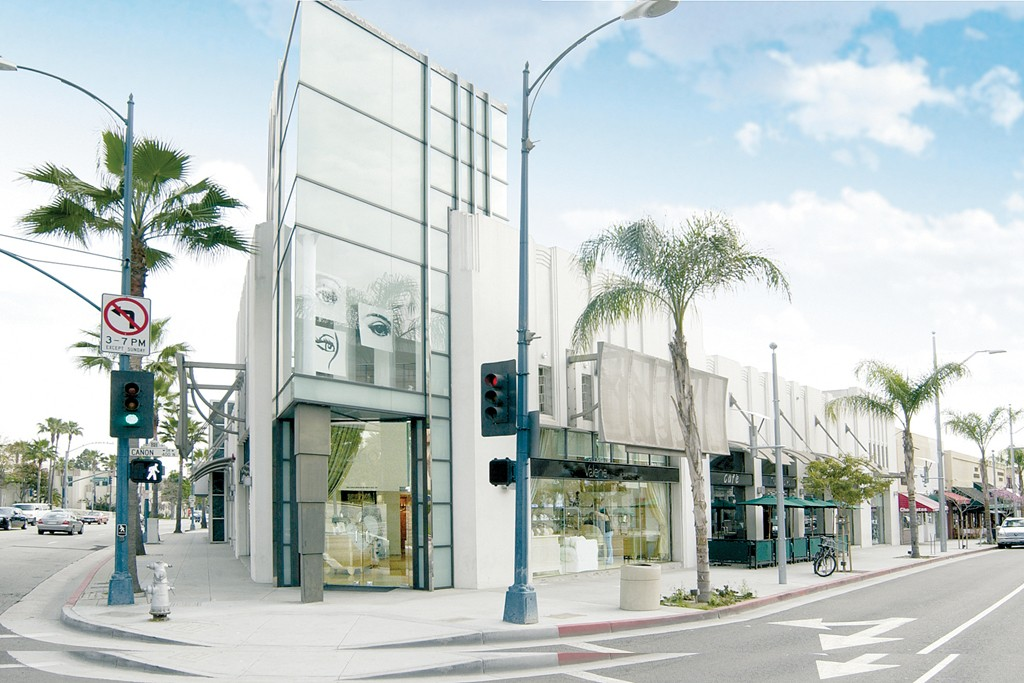 A view of Valerie Beverly Hills salon.