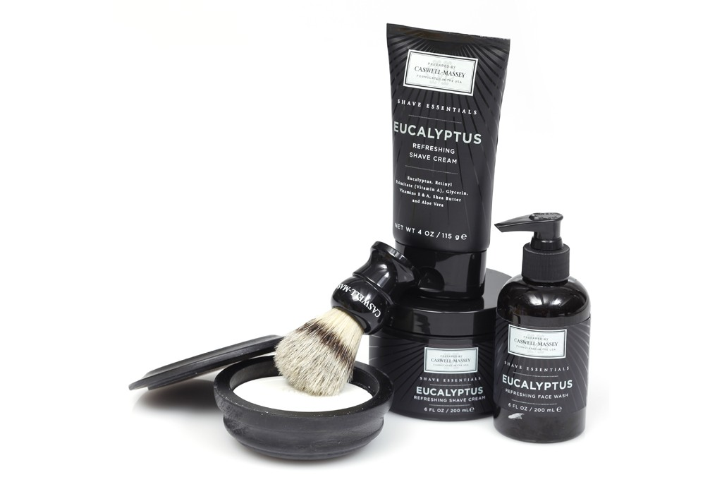 Caswell-Massey shaving products.