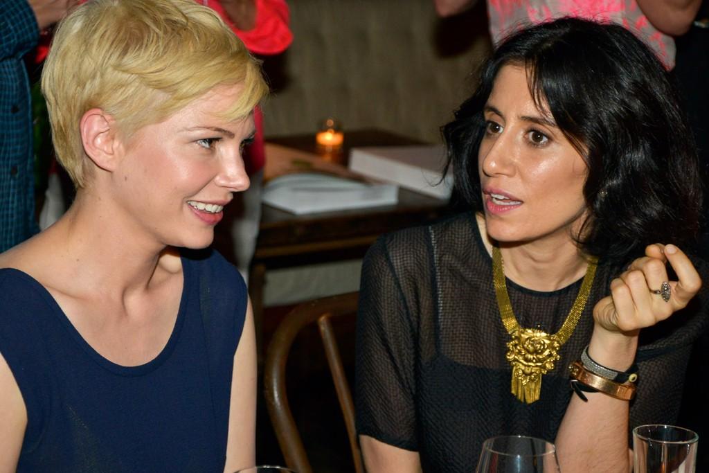 Michelle Williams and Araks Yeramyan