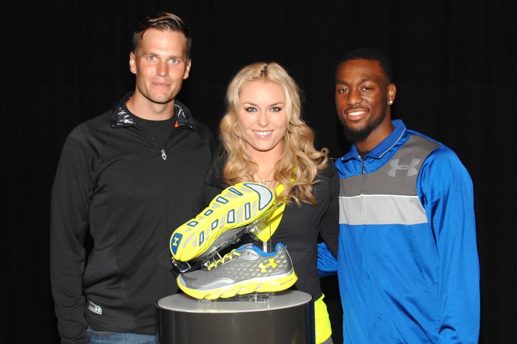 Tom Brady, Lindsey Vonn and Kemba Walker.