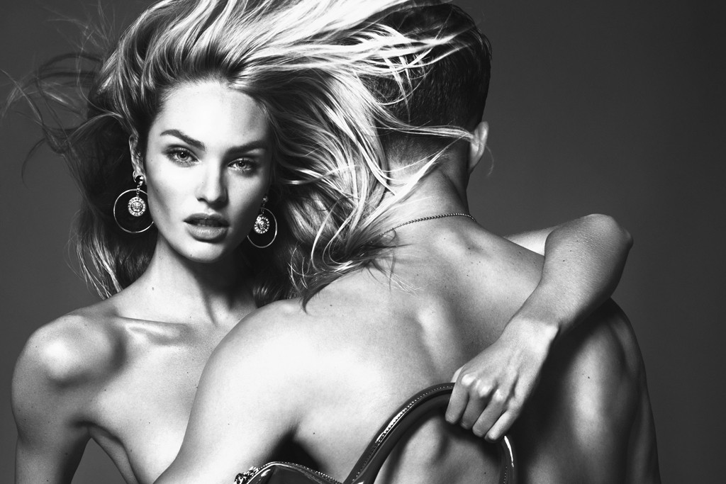An image for the fall Versace Jeans campaign.