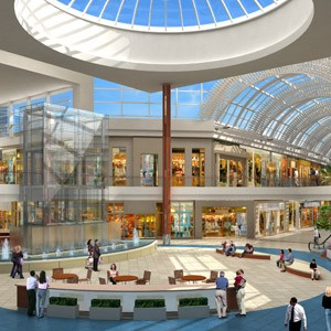 A rendering of the Taubman Centers Inc.'s impending Mall at University Town Center in Sarasota, Fla.