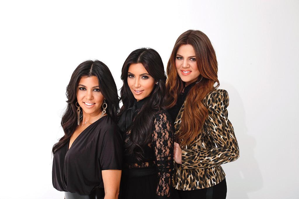 Kourtney, Kim and Khloé Kardashian.