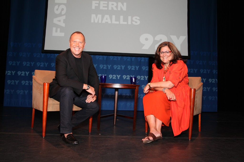 Michael Kors and Fern Mallis