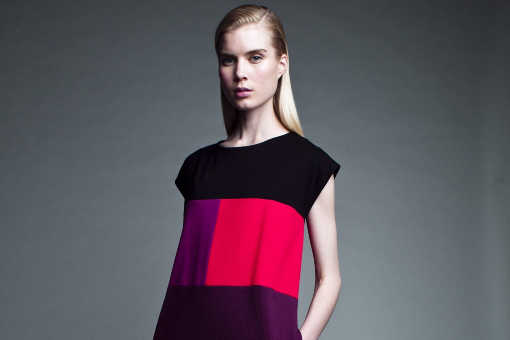 A look from Narciso Rodriguez's line for Kohl's.