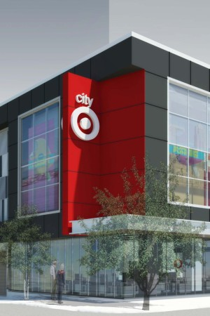 A rendering of the Seattle CityTarget.