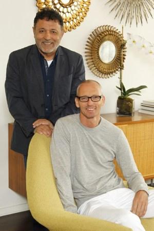 Elie Tahari and Ingo Wilts