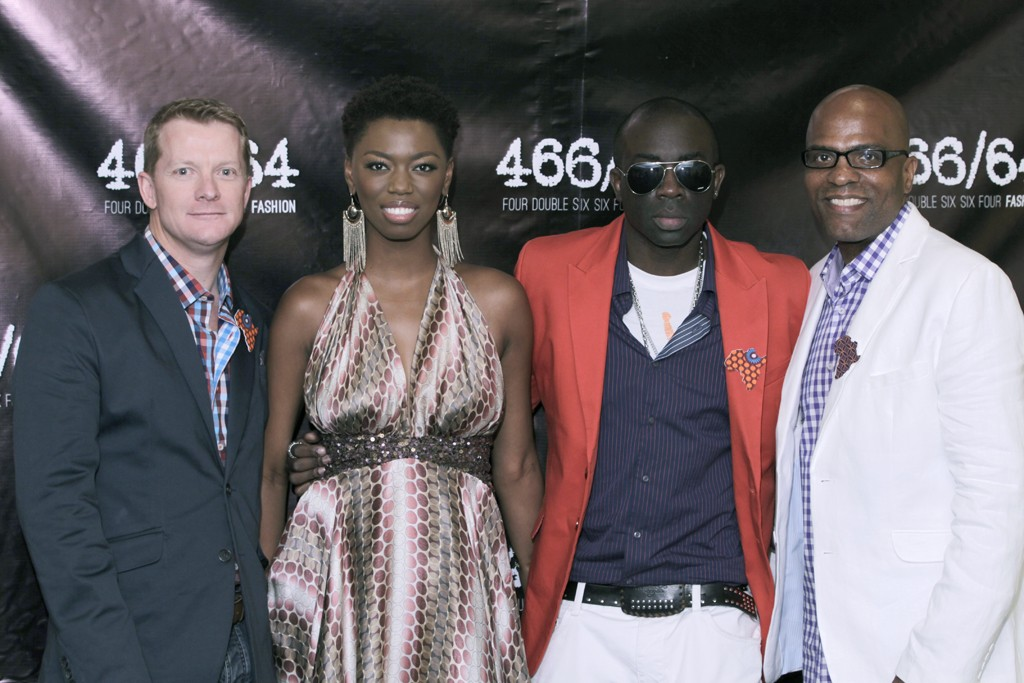 Wayne Bebb, chief executive officer of Brand ID, Lira, Sam Sarpong and Erin Patton.