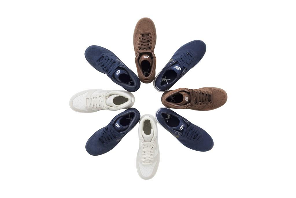 A.P.C. + Nike footwear line.