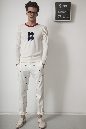 Band of Outsiders Men's RTW Spring 2013