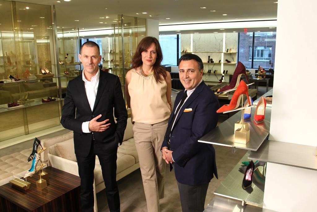 Barneys New York's Mark Lee, Daniella Vitale and Tom Kalenderian.
