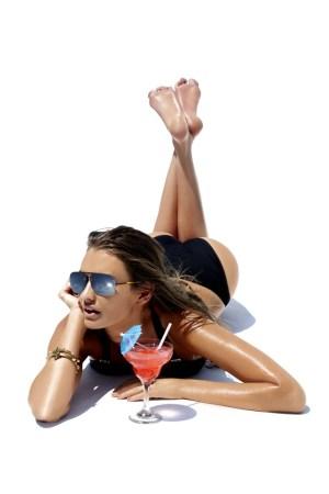 A look from BCBG Max Azria swimwear.