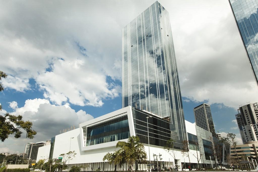 The JK Iguatemi mall in Brazil.