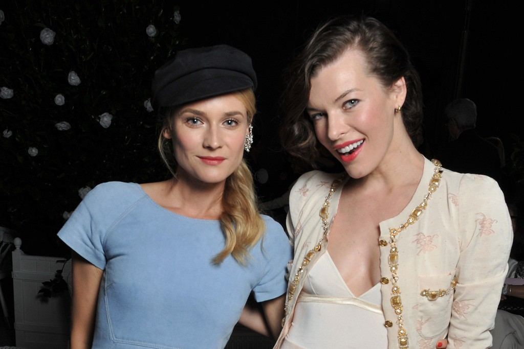 Diane Kruger and Milla Jovovich