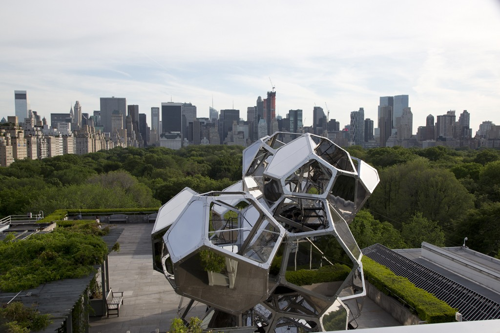 """Tomas Saraceno's """"Cloud City"""" is now up at the Met."""