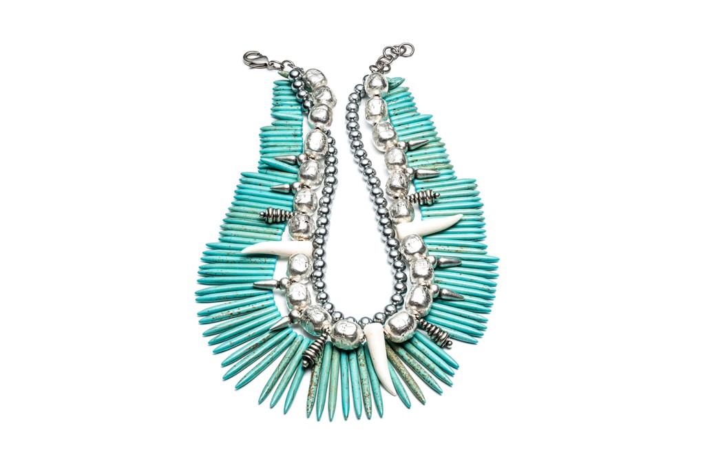 A Dannijo necklace.