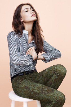 A visual from Paige Denim's fall ad campaign.