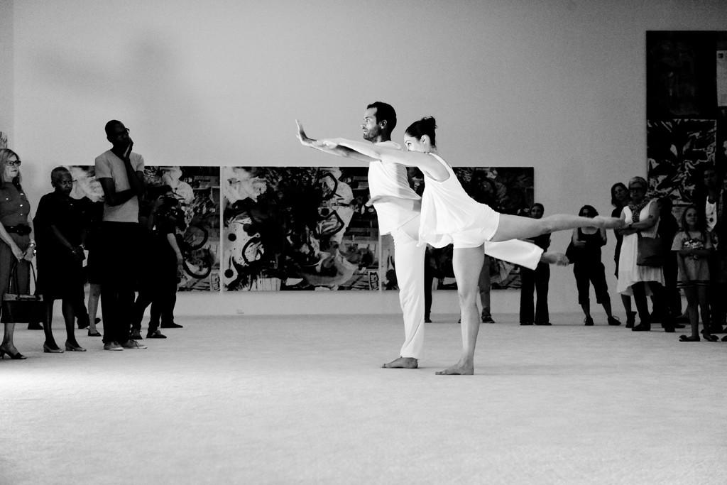 "Benjamin Millepied's ""Framework"" performed at MOCA."