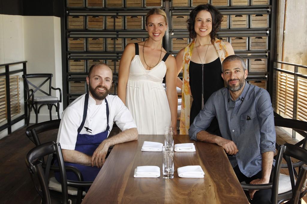 Chef Brad McDonald, Emilie Kihlstrom, Elise Rosenberg and Tamer Hamawi.