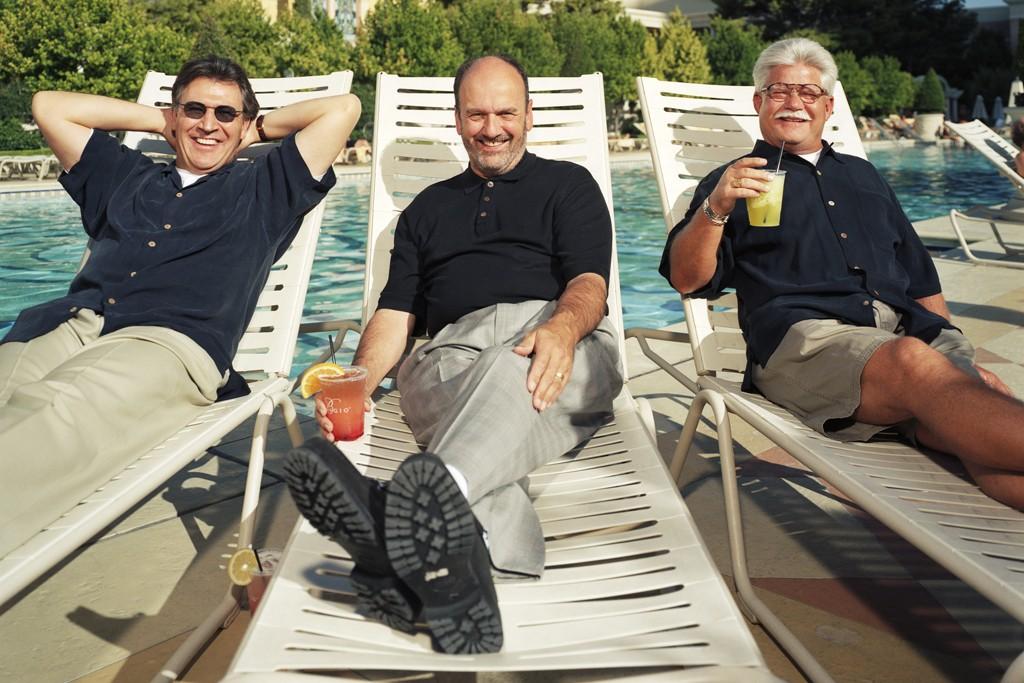 Lucio Dalla Gasperina, Tony Margolis and Bob Emfield.