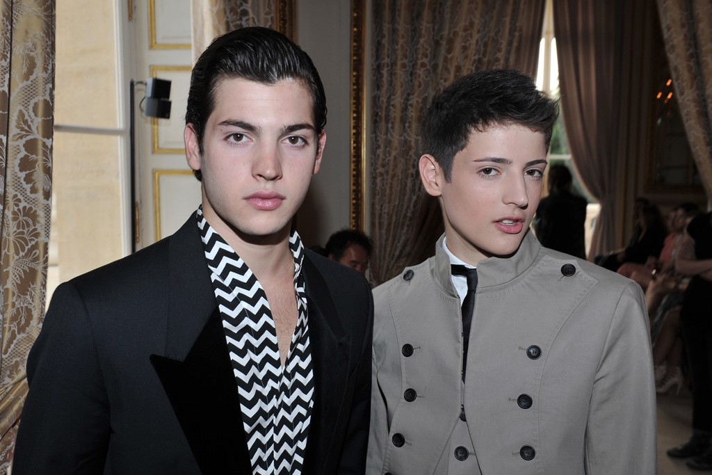 Peter Brant Jr. and Harry Brant