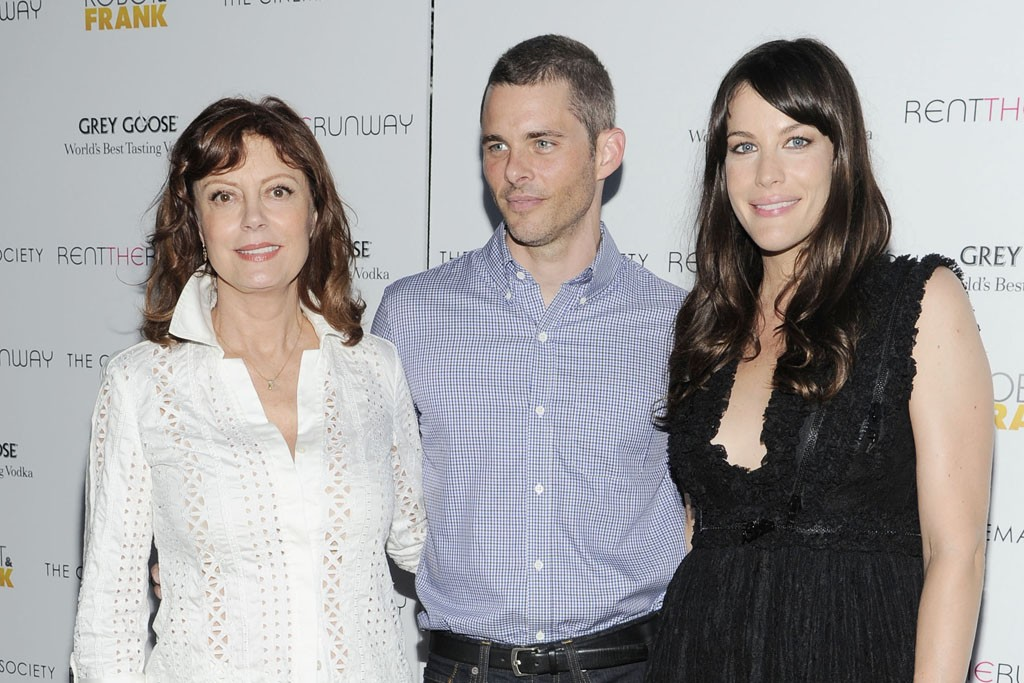 Susan Sarandon, James Marsden and Liv Tyler.