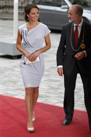 The Duchess of Cambridge in Roksanda Ilincic.